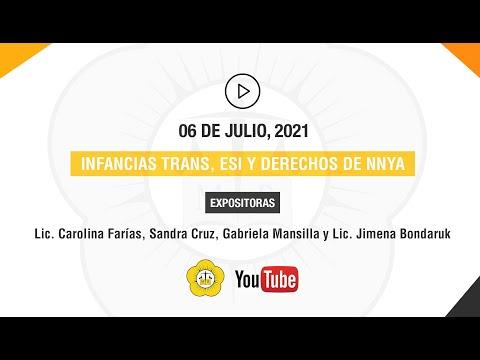 INFANCIAS TRANS, ESI Y DERECHOS DE NNYA - 6 de Julio 2021
