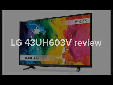 LG 43UH603V 43 inch 4K LED TV review - Best Lowest Price UK - Discount, Voucher code