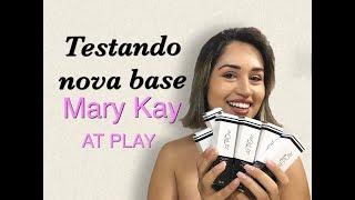 Testando nova base Mary Kay At Play