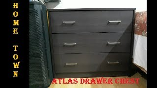 HomeTown Atlas Engineered Wood Free Standing Chest Of Drawers Unboxing & Assembling