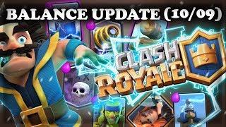 Balance Update October 2017 | Bug Fixes | Clash Royale