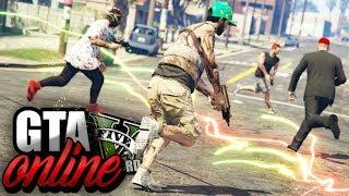 GTA V Online : O MATA-MATA NA GROOVE STREET! O TIME DELES SÓ TEM DOIS ALIADOS!!!