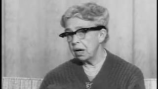 Eleanor Roosevelt Interview On FDRs Legacy (1959)