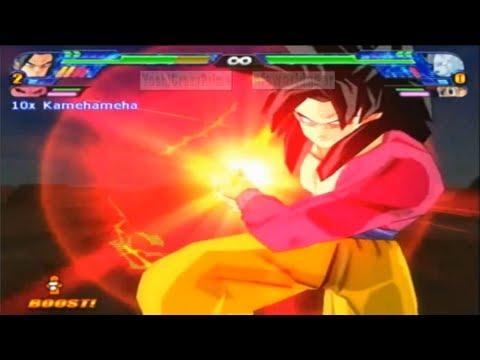 Gameplay de Dragon Ball Z Budokai Tenkaichi 3