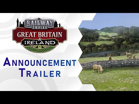 Railway Empire - DLC Great Britain & Ireland - Announcement Trailer (US) thumbnail