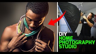(Tutorial) How To Create A Home Photography Studio - DIY