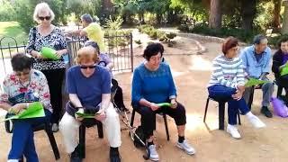 טיול קהילה תומכת בעקבות שירי אהוד מנור 2