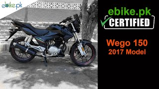 Wego 150cc 2017 Model for Sale in Karachi | ebike.pk Certified Bike