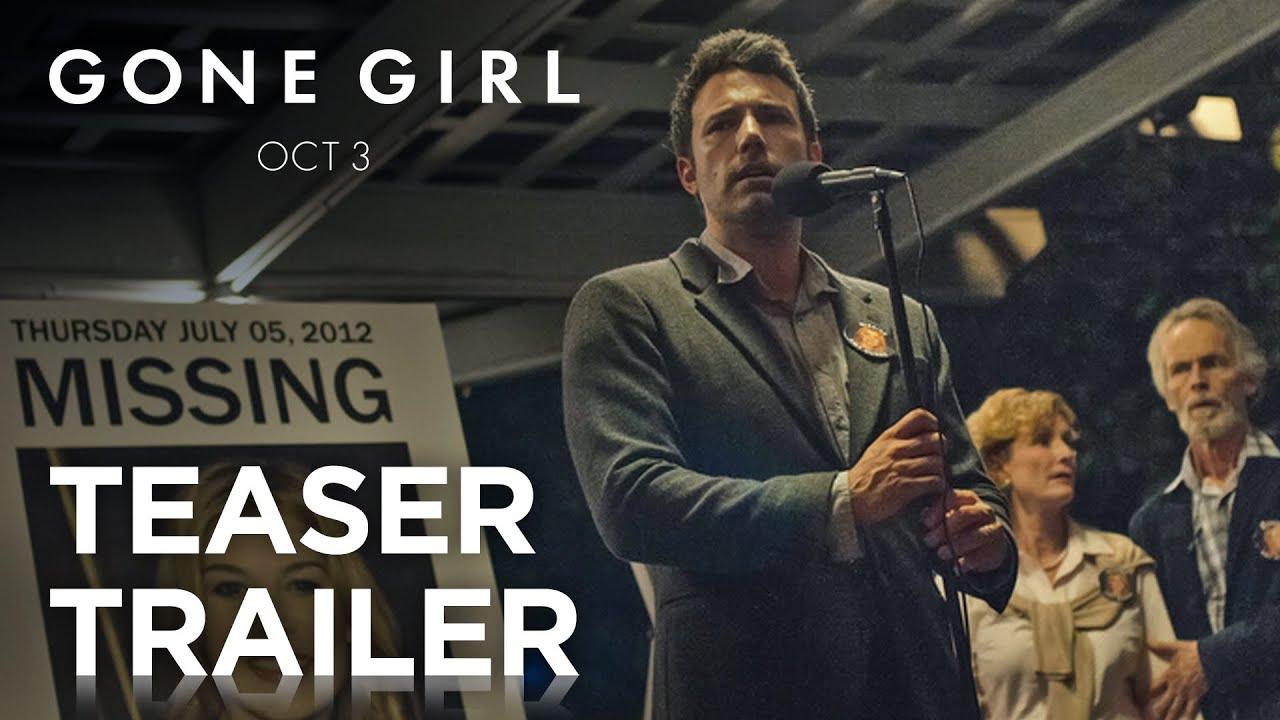 >Gone Girl | Teaser Trailer [HD] | 20th Century FOX
