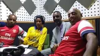 Football star Gedion Zelalem's father on Seifu Fantahun Show