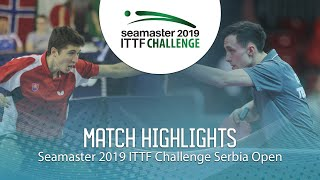 Dennis Klein vs Jakub Zelinka | 2019 ITTF Challenge Serbia Open (Group)