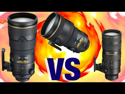 Telephoto SHOWDOWN - 300mm f2.8 vs 200mm f2 vs 70-200 f2.8 + TC