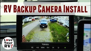 Haloview Wireless RV Observation Camera Installation