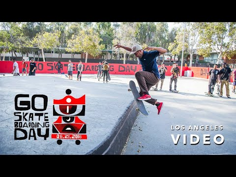 Go Skateboarding Day in LA with Nyjah Huston, Paul Rodriguez, Eric Koston, and more | ASN