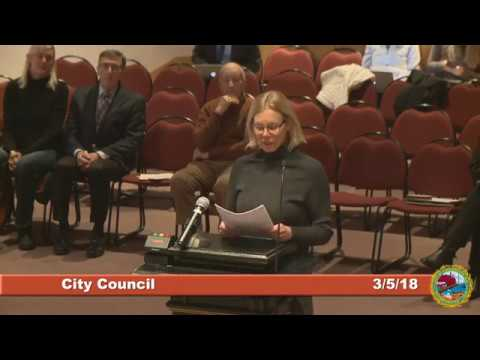 City Council  3.5.18