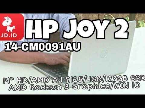 Unboxing/Short review HP JOY 2 Laptop tipis SSD murah dari Jd.id