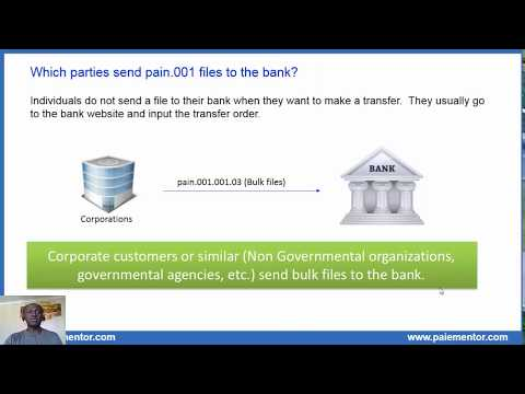 Pain.001 Customer Credit Transfer Initiation Message