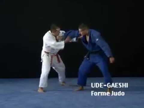 Ude Gaeshi judo