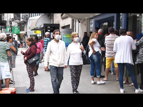 Uso de máscaras nas ruas de Nova Friburgo ainda é raro