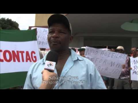 Matéria Protesto Fetag dez2013