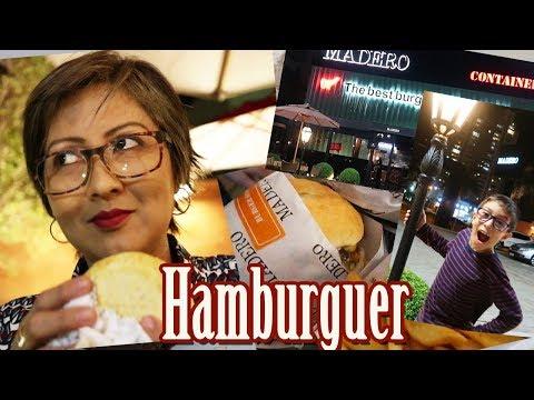 FOMOS CONHECER O HAMBURGUER DO MADERO | CONHECENDO RESTAURANTES | #VLOG!