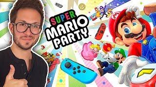 SUPER MARIO PARTY, MES IMPRESSIONS : la super surprise de la Nintendo Switch ?