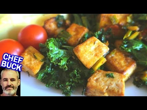 Easy Tofu Recipe for Tofu Beginners -- Tofu Breakfast Scramble