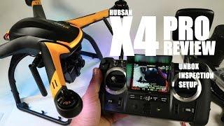 HUBSAN X4 PRO H109s FPV GPS QuadCopter Drone Review - Part 1 - [UnBox, Inspection & Setup]