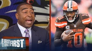 Cris Carter on why RG3 doesn't fit with Ravens, Gives Jerry Jones reality check | FIRST THINGS FIRST - dooclip.me