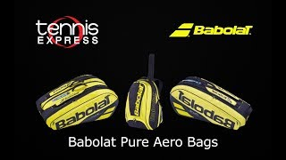 Τσάντες Τέννις Babolat Pure Aero Racket Holder x 6 2019 video