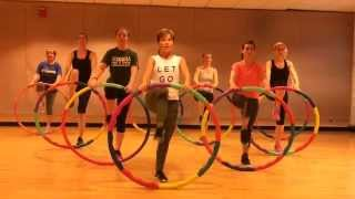 """""""ADDICTIVE"""" - Dance Fitness Workout Weighted Hula Hoops Valeo Club"""