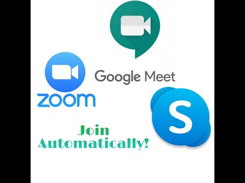 Join online classes and meetings automatically on time without accessing your phone [Working]