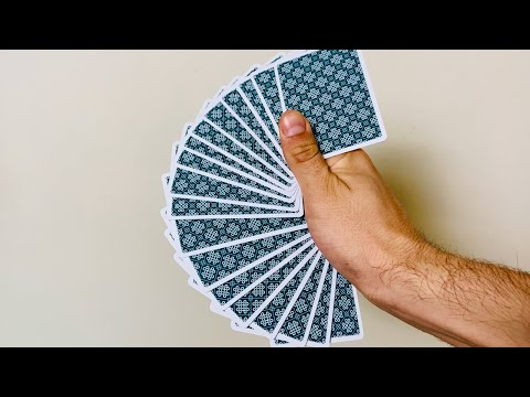 One Handed Card Fan Tutorial