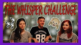 ЧЕЛЛЕНДЖ : Тихий вызов / The whisper challenge / Challenge#2 НАСТЯ/ВАДИМ/ЛЕНА
