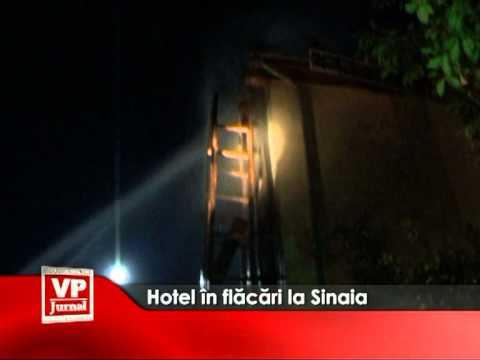 Hotel in flacari la Sinaia
