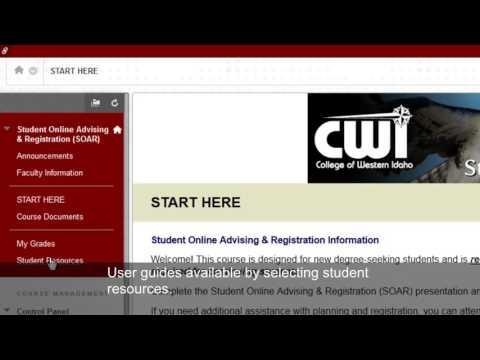 CWI Blackboard Login - YouTube