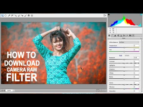 How To Download Camera Raw Filter For Photoshop Cs6