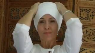 Como colocar o turbante feminino, por Surjeet Kaur