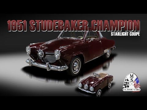 Video of 1951 Champion Offered by MS Classic Cars - PET1
