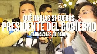 preview picture of video 'PRESIDENTE DEL GOBIERNO | Carnaval Cádiz'