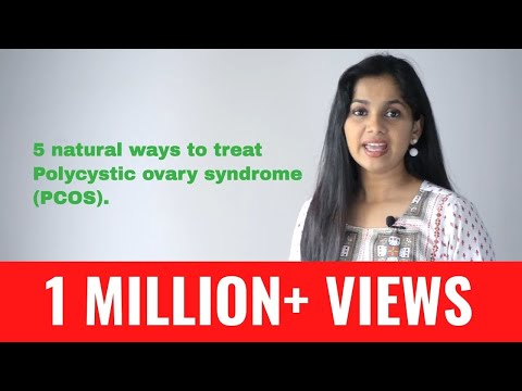 Video 5 natural ways to treat Polycystic ovary syndrome (PCOS) | Dr. Arpitha Komanapalli