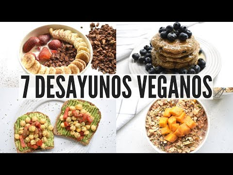 7 Desayunos Veganos Fáciles y Rápidos Para Toda La Semana