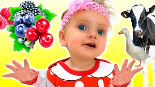 Berries Song +More Kids Songs By Maya And Mary