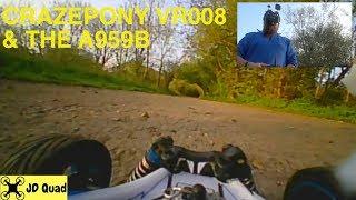 WLToys A959B & Crazepony VR008 Pro FPV Goggles Test Video