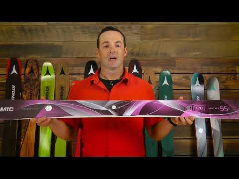 Atomic Vantage 95 Skis - Women's