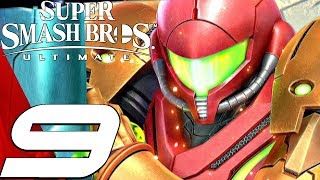 Super Smash Bros Ultimate - Gameplay Walkthrough Part 9 - Samus (World of Light) Switch