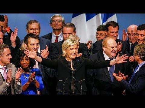 """Франция: лидер """"Национального фронта"""" вступила в президентскую гонку с поул-позишн"""