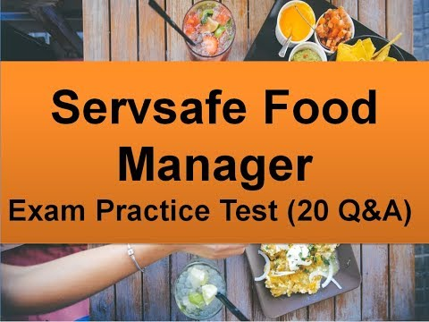 Servsafe Food Manager Exam Practice Test (20 Question & Answer ...