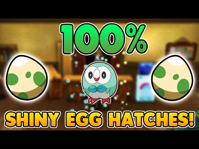 Video The Ultimate 100 Shiny Pokemon Egg Hatching Guide Easy Shiny
