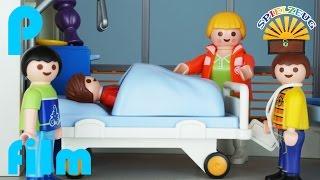 GEFÄHRLICHE MUTPROBE Geht Schief Rettungsflieger EINSATZ Playmobil Film Geschichte Deutsch